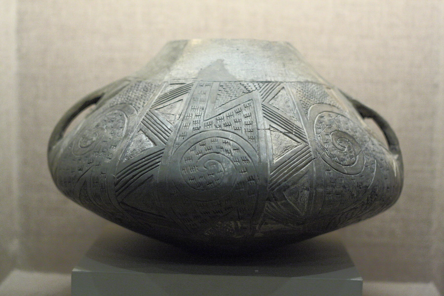 Late Neolithic period vase Volos Museum
