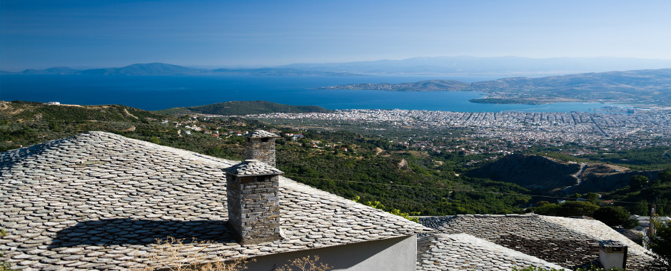 Volos Greece View from Pelion